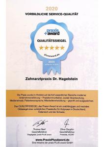 Urkunde Praxis+ Award
