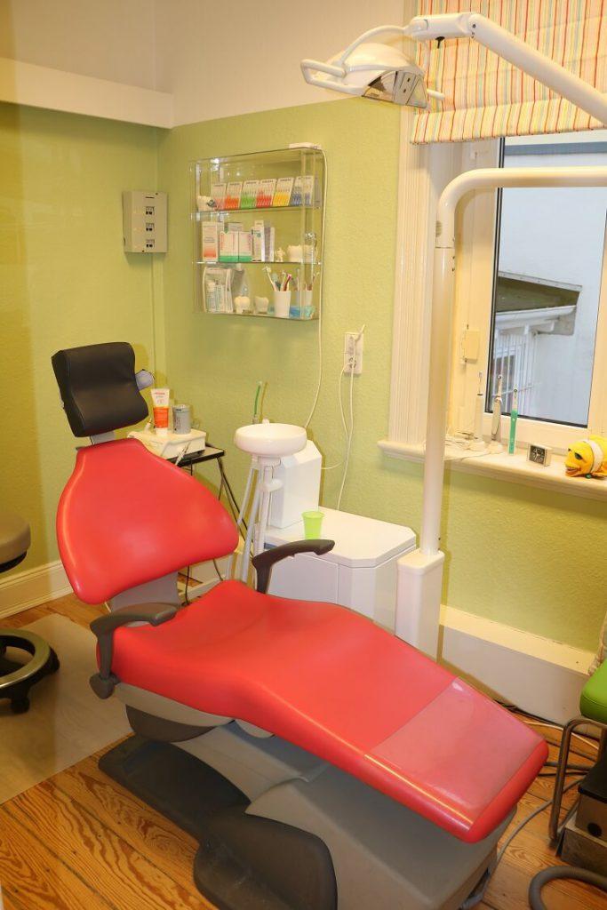 Behandlungszimmer Dr. Hagelstein